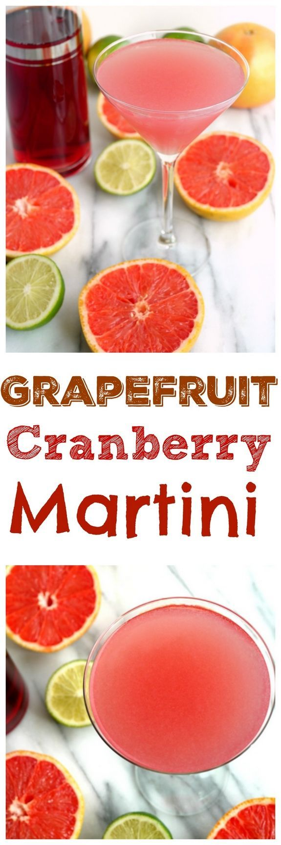 Grapefruit Cranberry Martini from NoblePig.com.