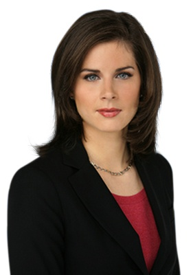 Erin Burnett - CNN's candy anchor with a punch! Host of 'Out Front'. Trust me, if it's bad news you want to hear it from her.
