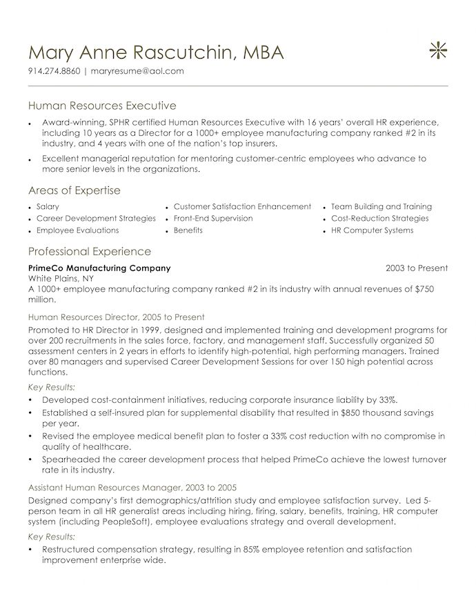 professionally written resumes pongo executive resume example hr generalist resumes