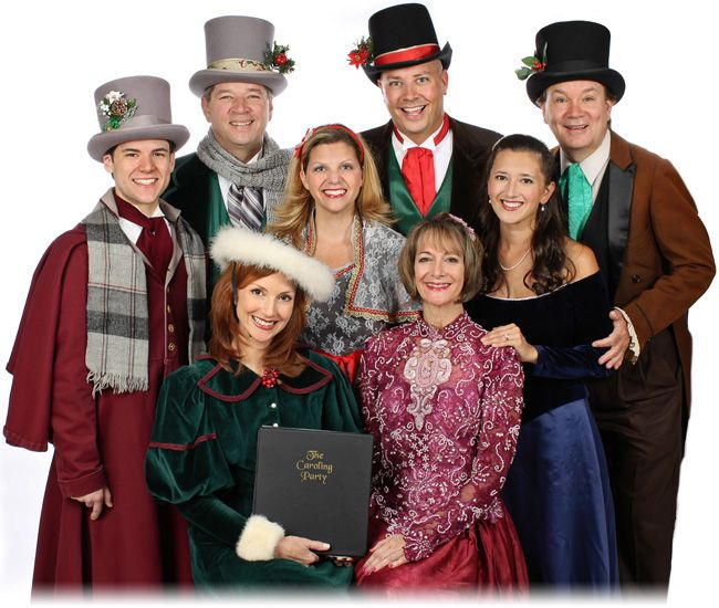 Joy And Noel Holiday Caroler: Members Of The Caroling Party... Auditions Oct 17 2013