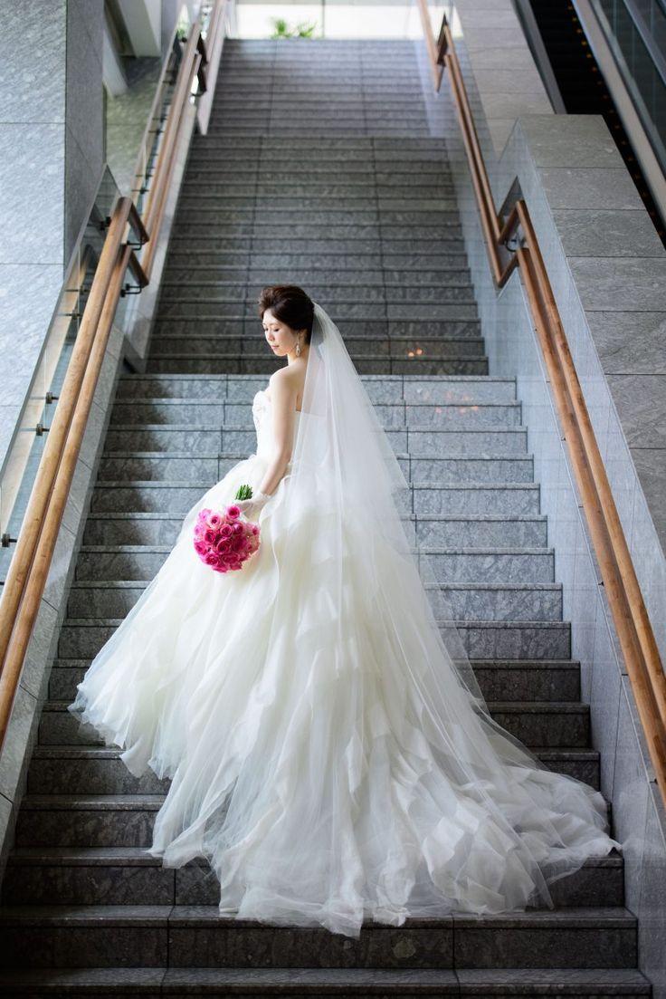 Photography:unison  #パレスホテル東京 #結婚式 #ウェディングドレス #ヴェラウォン