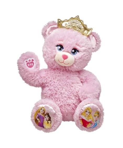I HAVE THIS BEAR  THE TIARA LIGHTS UP ITS SO CUTE
