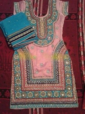 Ethnic Bollywood Patiala Punjabi Indian designer Festival Party wear suit