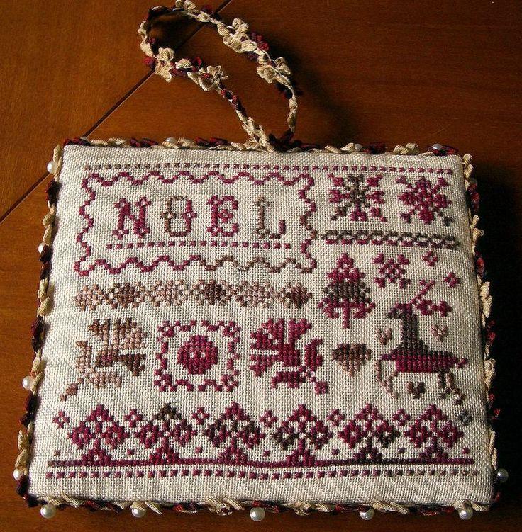 Noel cross-stitch - free