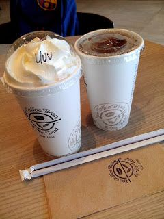 The Coffee Bean & Tea Leaf - Ice Blended Vanilla and Ice Tea : Ground Floor, Entertainment Mall, Mall of Asia Complex (MOA), Pasay City