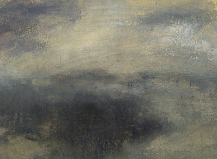 Nicholas Herbert, British Artist - Landscape L968, Sharpenhoe Series, Looking Across the Bedfordshire Countryside, The Chiltern Hills, contemporary mixed media painting