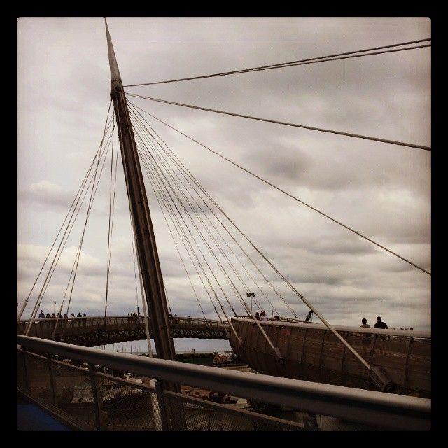 Ponte sul Mare - Samsung Galaxy II - Instagram