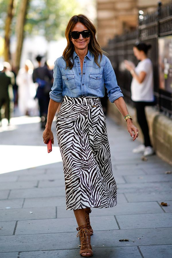 a3bf060b09 The Pool - Fashion - The epic return of the mid-calf skirt (and what to wear  on your top half)