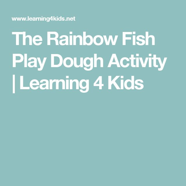 1000+ ideas about Rainbow Fish Crafts on Pinterest | Rainbow Fish ...