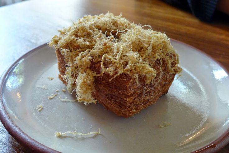 Pork Floss and Mayo Cronut, so much fusion at Devon on Danks. I just love it.