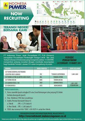 SATU IMPIAN: PT INDONESIA POWER selaku Anak Usaha PT PLN (Perse...