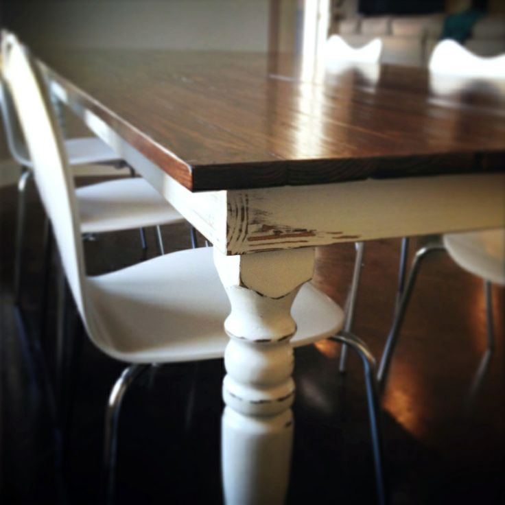 Harp Design Co Kitchen Table And Chairs From HGTVs Fixer Upper