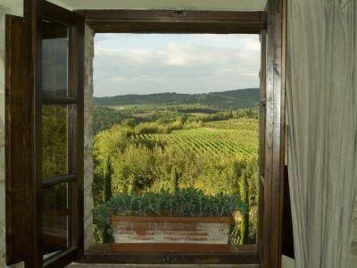 A window invites...