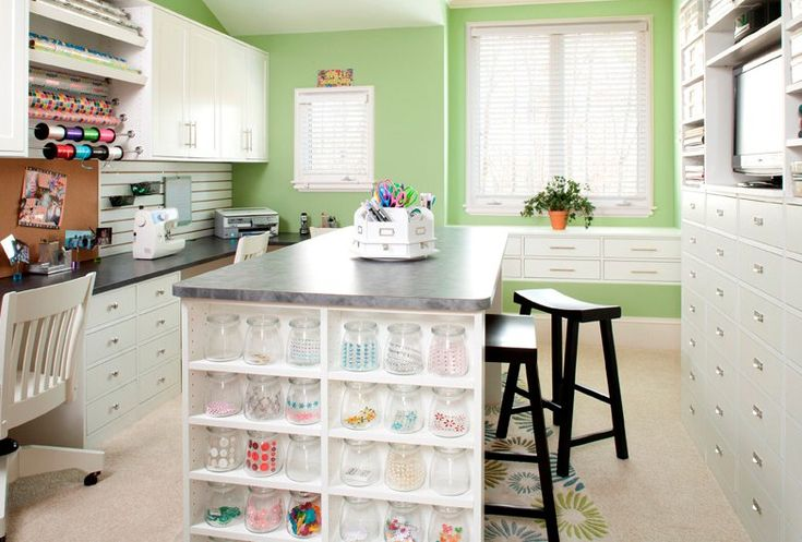 1000 images about craft room ideas on pinterest kallax for Design a craft room