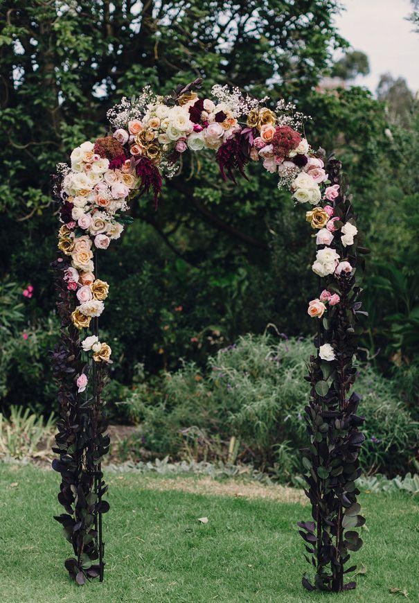 Arco floral para tu boda civil en otoño 2014. ¿ No te encanta? #BodaTotal