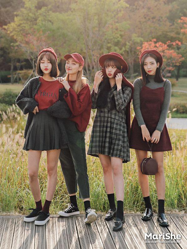 #korean, #similar #look Autumn Fashion                                                                                                                                                                                 Plus