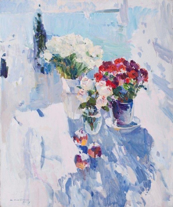 Художник Юрий Константинов. Белое солнце и синие тени