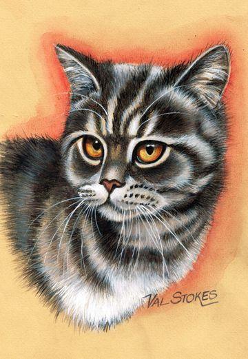 321 besten katzen malerei 2 bilder auf pinterest katzen malereien katzen kunst und. Black Bedroom Furniture Sets. Home Design Ideas