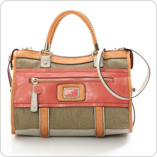 GUESS Handtasche Talina Satchel Coral » Handtaschen-Blog | Die ...