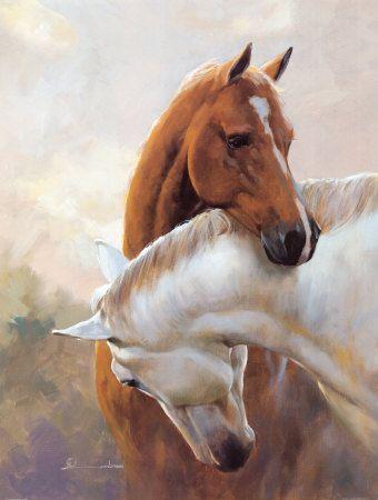Oltre 25 idee originali per Dipinti di cavalli su Pinterest | Arte ...