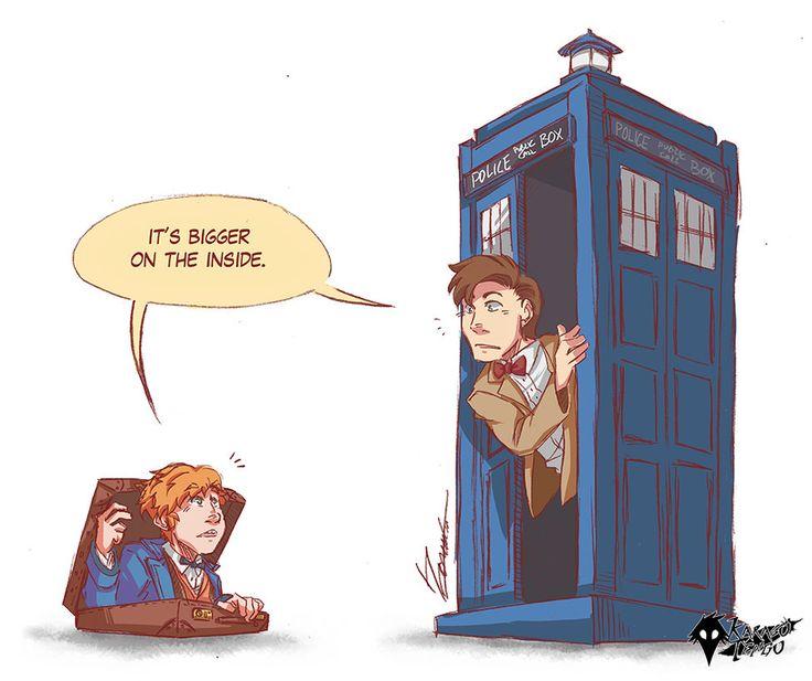 Doctor Newt by KarasuTenguProyectos.deviantart.com on @DeviantArt