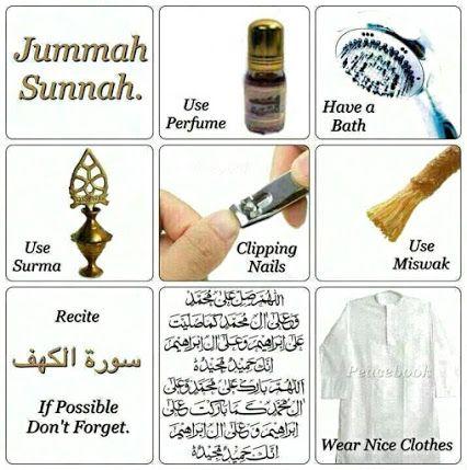 Do not miss the Sunnah on #Friday goo.gl/slp1LO
