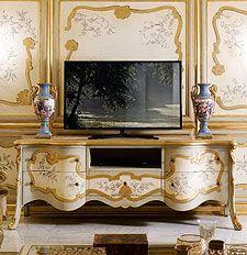 I complementi di arredo classici e di lusso di Andrea Fanfani