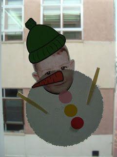 Muñeco de nieve Mario Hoy nos ha dado el día mucho de sí, aprovechando que no teníamos ninguna actividad (inglés, música, estimulación ...