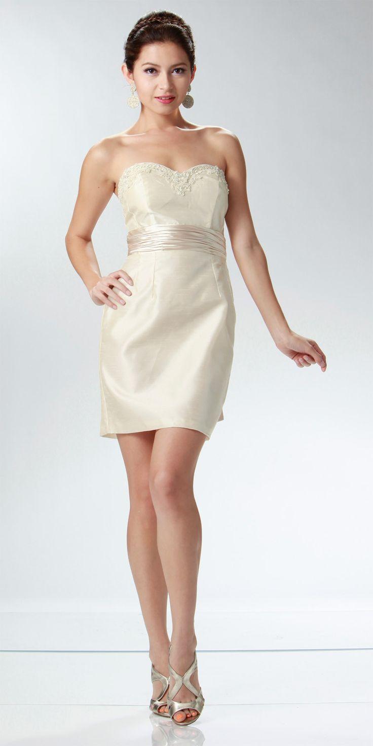 Cream Cocktail Dresses | Dress images