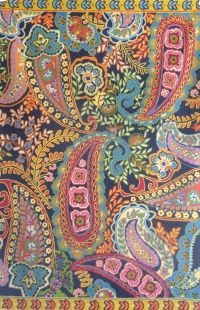 Alfombra de lana bordada a mano en india tejido plano for Alfombras de algodon indias