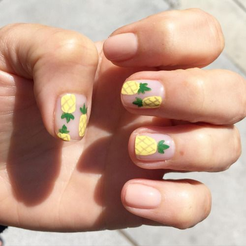 Pineapple mani from Olive & June