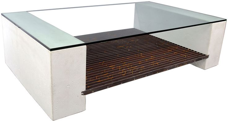 Steel Grating Coffee Table