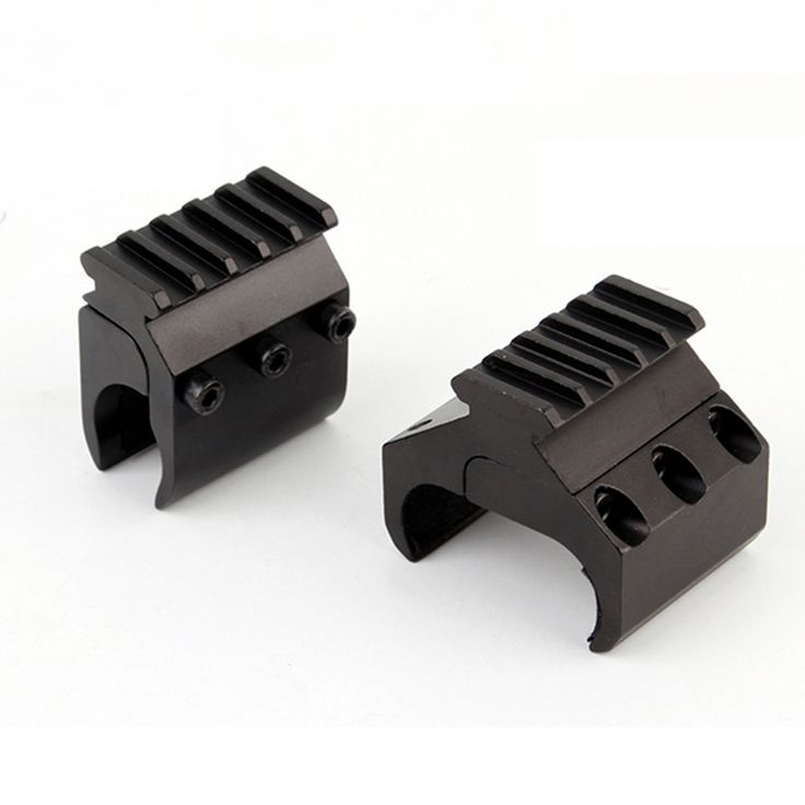 Single/Double Tube Shotgun Picatinny Rail Adaptor for 20mm Rail Mount Hunting Tactical Accessories
