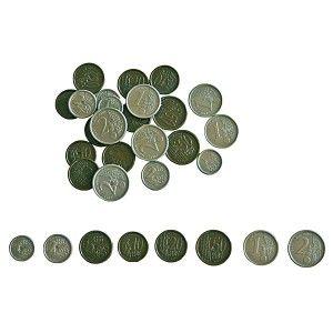 Pièces et billets euros factices pour jeux argent