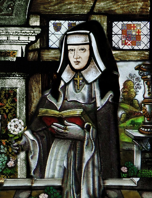 Bridget Of York  - daughter of Edward IV and Queen Elizabeth Woodville