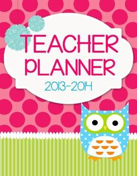 Teacher & Lesson Planner Editable with Common Core SS {Who Has It Together?} $