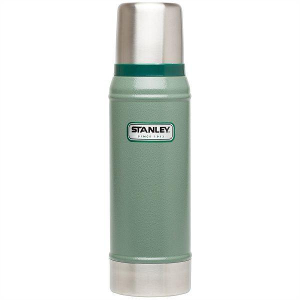 STANLEY     Classic 473ML Vacuum Flask - Hammertone Green