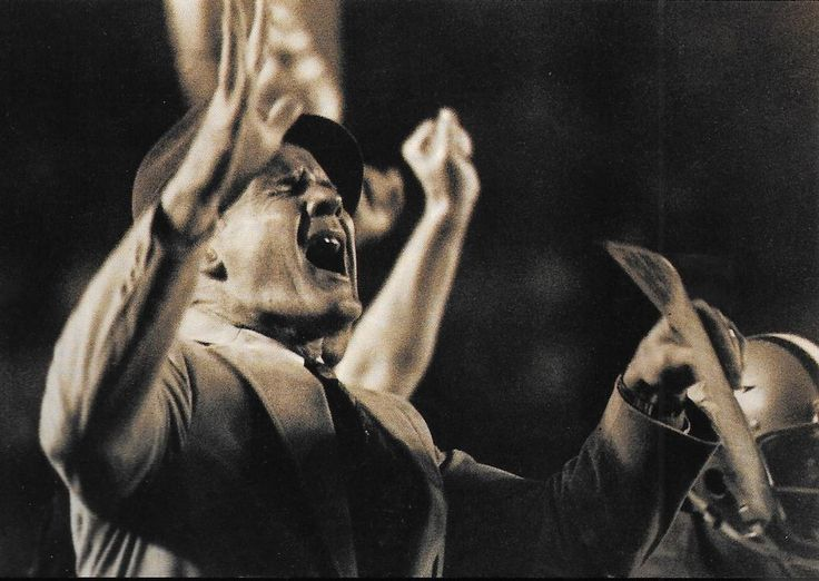 An emotional TOM LANDRY--Super Bowl XIII-January 21, 1979