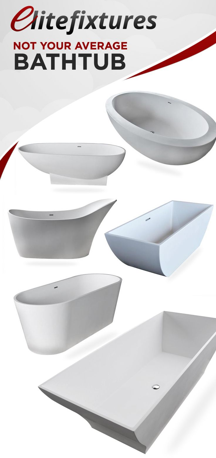 These are definitely not your ordinary bathtubs.