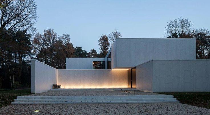DM Residence, Belgium, CUBYC architects, Keerbergen, 't Huis van Oordeghem, minimalist, simplicity, Thomas De Bruyne, Koen Van Damme
