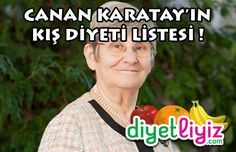 Prof. Dr. Canan Karatay'dan Kış Diyeti ! Hem fazla kilolarınızdan kurtulacaksınız, hem de kışı hastalığa yakalanmadan geçireceksiniz ! İşte o diyet programı...