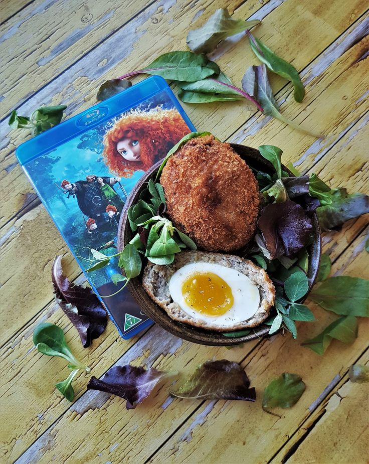Scotch eggs from Pixars Brave