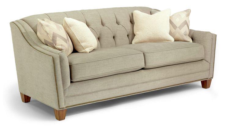 Dorea Sofa w Nails by Flexsteel Living Room Pinterest : 5b10a64ee0176c85da7c4fc3d72370a4 cozy room tufted sofa from www.pinterest.com size 736 x 420 jpeg 34kB