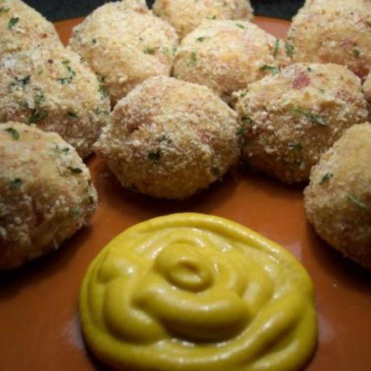 baked sauerkraut balls