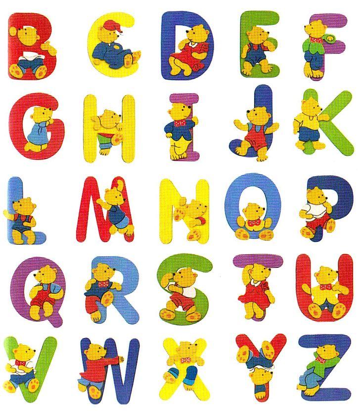 буквы с картинками английские цветные вокала мог оставить