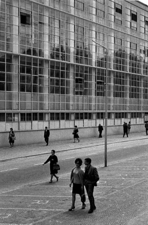 La fabbrica ICO Figini e Pollini di Ivrea fotografata nel1951da Ugo Mulas