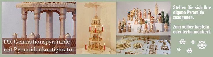Einmaliger Holzbausatz zum Selbstbau einer erzgebirgischen Weihnachtspyramide - schauen und selber erbauen ... ;))