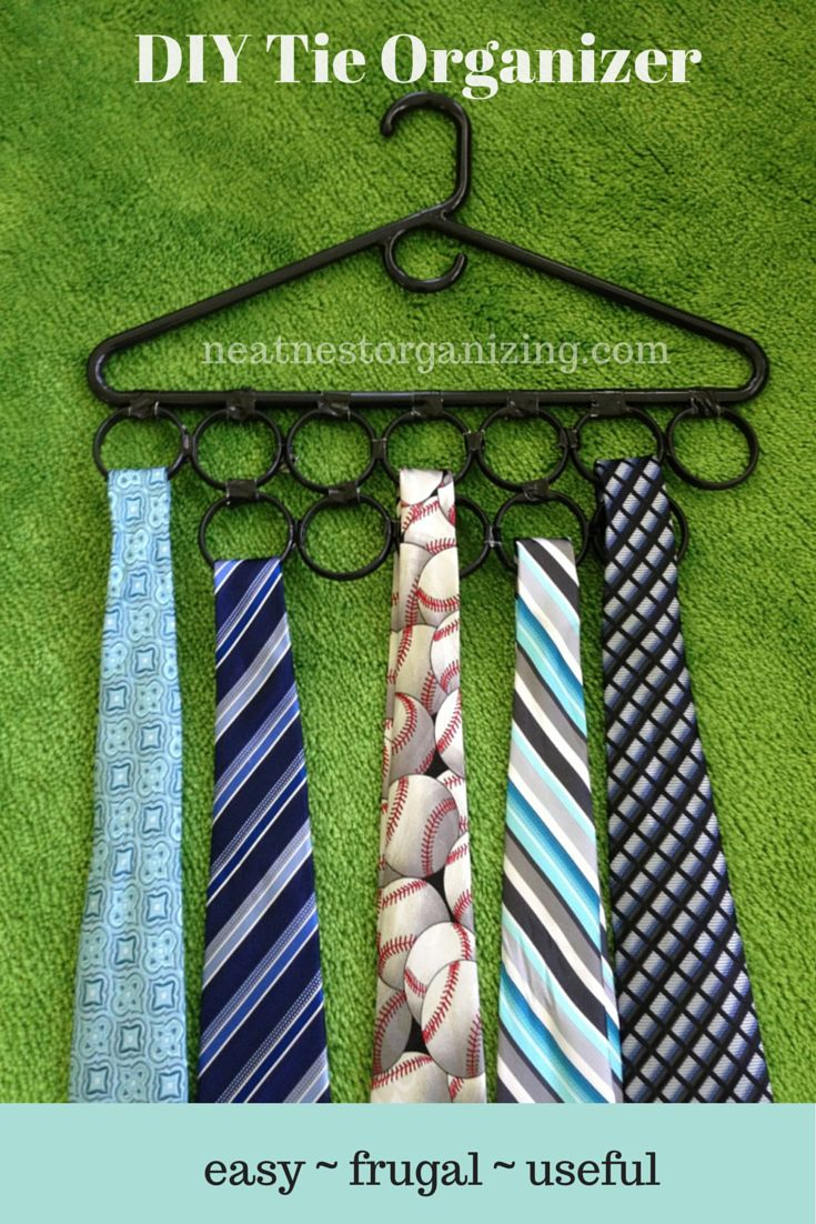 Best 25 tie storage ideas on pinterest tie rack organize ties 42 clever organizing ideas to make your life so much easier solutioingenieria Images