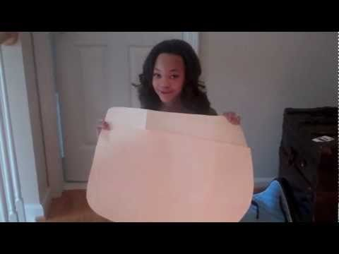 DIY: Saddle Pad (Part One - Pre Sewing) - YouTube