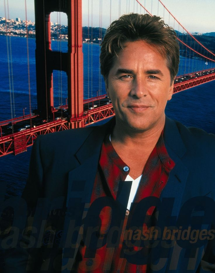 Nash Bridges, Don Johnson with the Golden Gate Bridge Behind Him. Best TV show on TV EVER https://www.change.org/p/cbs-bring-back-tv-show-nash-bridges